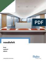 Needlefelt Forte Markant Akzent Brochure En