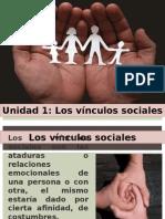 Unidad 1 Vínculos Sociales
