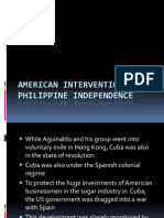 American Intervention and Philippine Independence