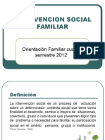 Invtervencion Social Familiar