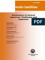 Promotion of Justice-Minerals