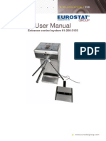 Turnstile 61-200-3103 User Manual