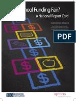 Is School Funding Fair - 4th Edition