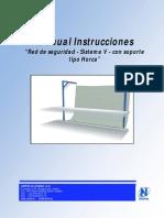 Manual de Instrucciones Rede de Seguranca