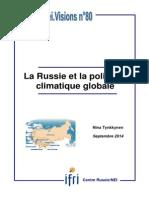 La Russie et la politique climatique globale