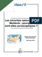 Les minorités nationales en Moldavie