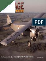 Vintage Airplane Vol.35 No.11 (2007-11)