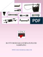 Fluid Sampling Tools
