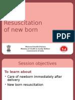 5b Resuscitation of New Born