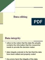Data Editing