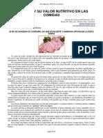 Cerdo y Valor Nutritivo