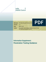 Penetration Testing Guidance March 2015