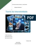 Trabalho Sobre a Interatividade (aplicações informaticas)