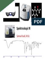 2015 Spektroskopi IR
