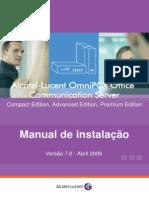Manual Omni PCX  Portugues
