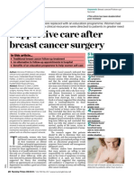 081014 Supportive Care After Breast Cancer Surgery