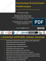 Optimisation Stockastique Evolutionnaire