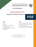 IT-07-Separacao Entre Edificacoes Isolamento de Risco