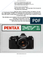 Manual Pentax MV1