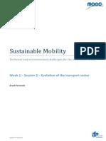 Evolution of the Global Transportation System