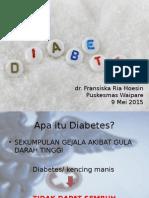Penyuluhan Diabetes Mellitus Lansia