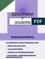 Ezquizofrenia y Cognicion