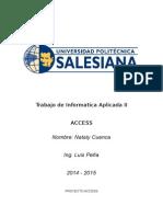 Trabajo de Informatica Aplicada II