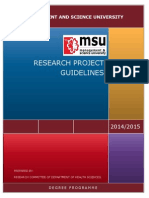Thesis Guidelines Update180115