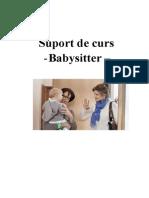 T Suport de Curs Babysitter