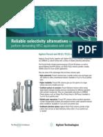 Agilent Pursuit 3 Diphenyl Columns Brochure