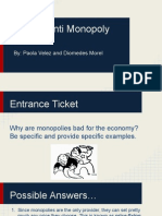 dio and paola- anti-monopoly laws