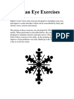 Tibetan Eye Exercises