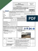 Pst Ssk-004 Carga Transporte y Descarga Apilamiento de Tubería de Acero o Hdpe Con Equipo de Izaje