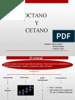 octano y cetano