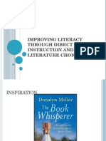 improving literacy through direct instruction and literature choice 1