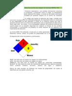 Clasificación de Productos NFPA 704-1