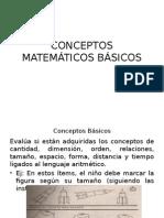 CONCEPTOS MATEMÁTICOS BÁSICOS
