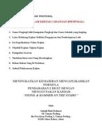 Format Penulisan Proposal