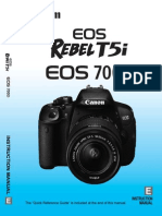 Rebel T5I-700d Owners Manual-En