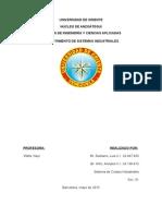 Sistema de Costos Estandar - Trabajo Oficial