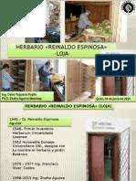 """Herbario LOJA 2015 """"Reinaldo Espinosa"""""""