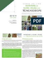 OL Inventario de Flora y Fauna Con Tecnicas GIS GPS