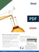 Signum Olieanalyse (naslaggids voor gebruikers)