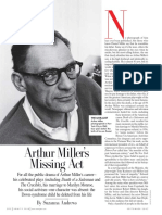 Arthur Miller's Missing Act  ||  By SUZANNA ANDREWS Vanity Fair Sept 2007