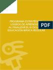 Programas Estrategicos Logros de Aprendizaje Logros Aprendizaje Ciclo III