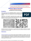 Different Forms of Corrosion_intergranular Corrosion_weld Decay