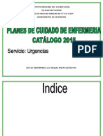 Catalogo de Urgencias Places 2015