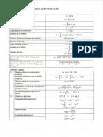 Formulario Matematicas Completo