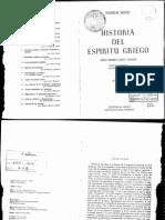 Historia Del Espiritu Griego