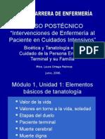 DIPLOMADO. Intervenciones de Enf. Pte. Terminal